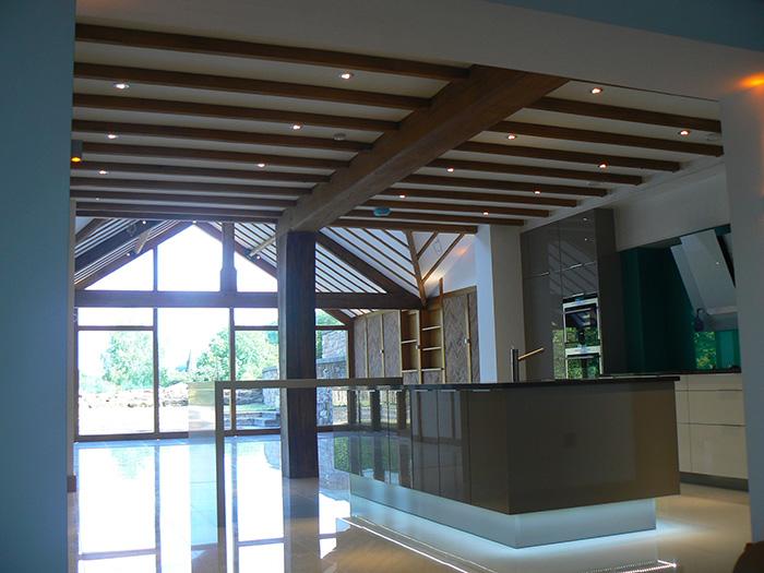 Modern Oak Conservatory