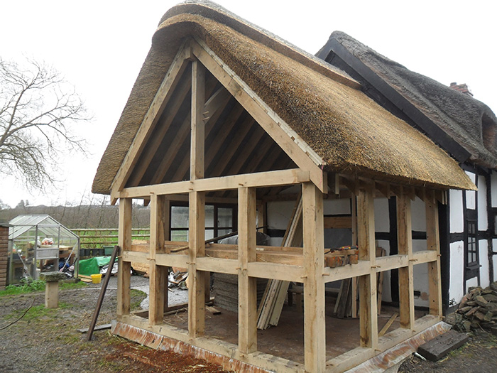 Traditional thatch extension