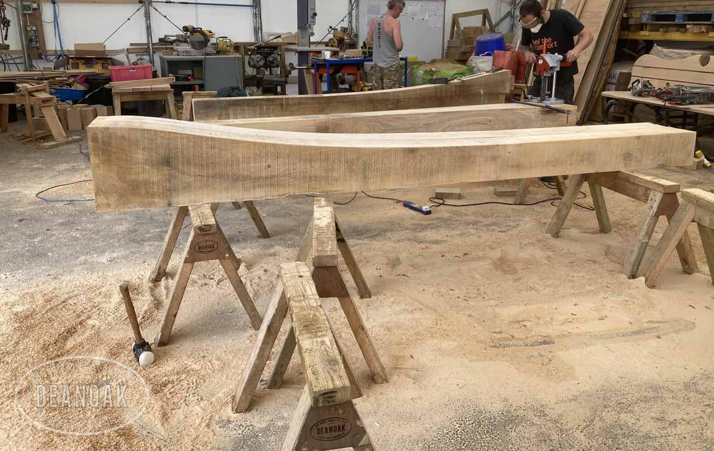 Deanoak Oak Barn Workshop