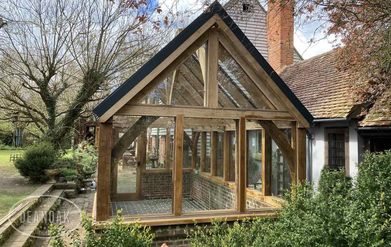 Oak Greenhouse by Deanoak Limited