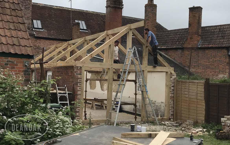 Roof & Trusses by Deanoak