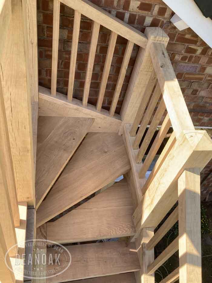 Stairway & Balcony - Deanoak