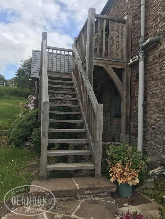 Stairs & Balcony in Llanishen by Deanoak Limited
